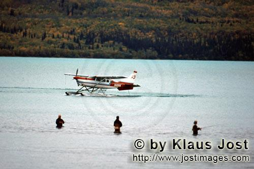 Floatplane/Bush plane/Alaska        Bush plane and Fisherman        With the Bush plane, it i