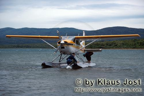 Bush plane/Katmai backcountry        Bush plane in Katmai backcountry