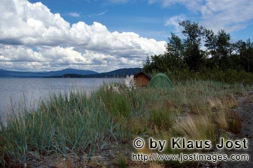 Lake Coville/Katmai backcountry        Camp at the Lake Coville
