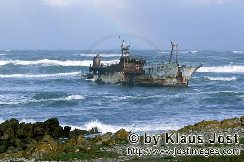 "Cape Agulhas/Western Cape/South Africa        Meisho Maru 38 - Wreck at ""Cape of the Needles"""