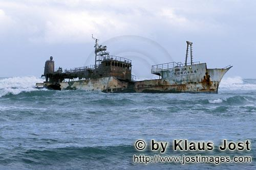 Cape Agulhas/Western Cape/South Africa        Meisho Maru 38 - Shipwreck at Cape Agulhas