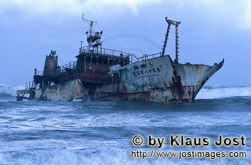 Cape Agulhas/Western Cape/South Africa        Meisho Maru 38 ran aground on 16 November 1982