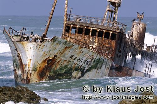 Cape Agulhas/Western Cape/South Africa        Meisho Maru 38 - Wreck at the Cape Agulhas