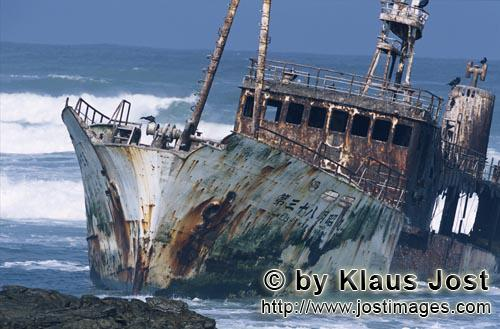 Cape Agulhas/Western Cape/South Africa        Fishing trawler Meisho Maru 38 accrued on Cape Agulhas