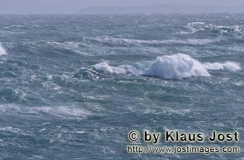 Southern-most tip of Africa        Raging sea storm        The southern tip of Africa is know
