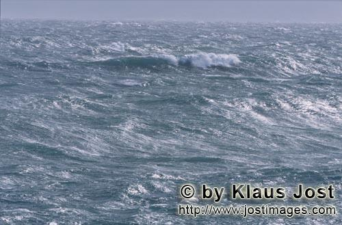 Southern tip of Africa        Unleashed sea in the South Atlantic        The southern tip of Afri