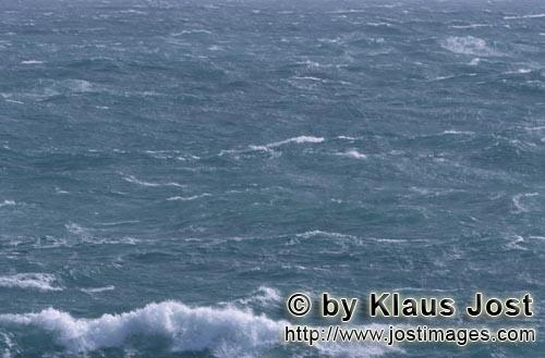 Southern tip of Africa    ´    Churning sea        The southern tip of Africa is known for <