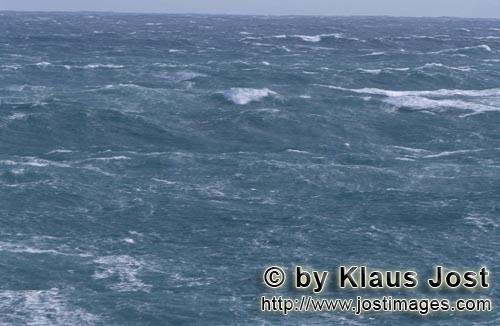 Southern tip of Africa        Heavy seas        The southern tip of Africa is known for su