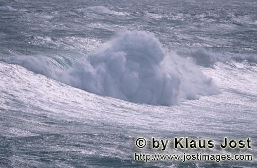 Southern-most tip of africa        Storm in the South Atlantic        The southern tip of Africa<