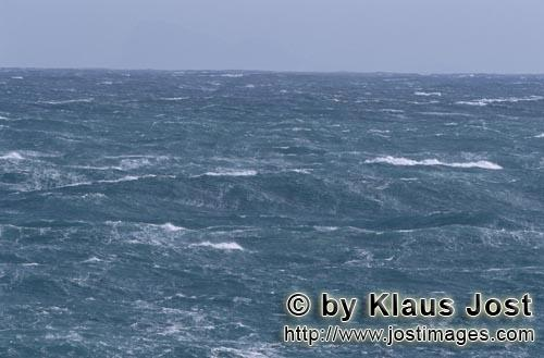 Southern tip of Africa        Rough seas on the southern tip of Africa        The southern tip of