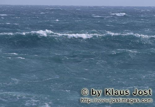 Southern tip of Africa        Stormy South Atlantic        The southern tip of Africa is know