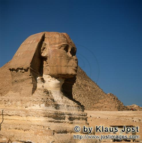Great Sphinx of Giza/Sphinx von Gizeh        Great Sphinx of Giza