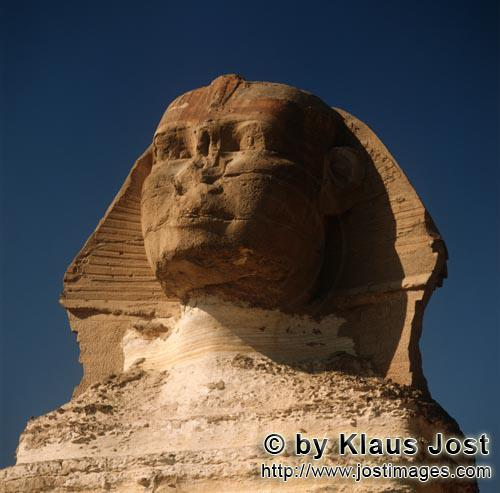 Great Sphinx of Giza /Sphinx von Gizeh        Great Sphinx of Giza - mysterious and unfathomable