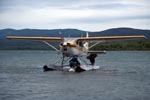 Bush plane in Katmai backcountry
