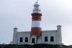 Lighthouse Cape Agulhas - at the southernmost end of Africa