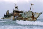 Meisho Maru 38 aground on Cape Agulhas