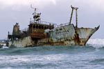 Meisho Maru 38 stranded on Cape Agulhas
