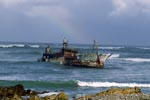 Meisho Maru 38 - final stop at Cape Agulhas