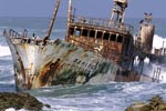Meisho Maru 38 - Wreck at the Cape Agulhas