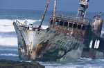 Fishing trawler Meisho Maru 38 accrued on Cape Agulhas