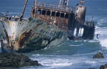Meisho Maru 38 - aground at Cape Agulhas