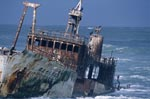 Meisho Maru 38 Ran aground at The tip of Africa