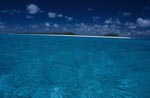 Island in the blue expanse of the Pacific