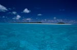 Picturesque Island in the South Seas