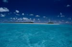 South Sea - Blue Sky, sand beach, lagoon