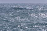 Unleashed sea in the South Atlantic