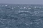 Raging sea at the southern tip of Africa