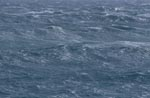 Stormy sea on the southern tip of Africa