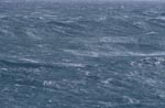 Stormy seas in the South Atlantic