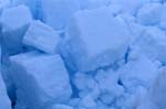 Pack ice consists of nested ice floes