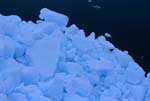Pack ice in the Arctic Ocean