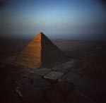 The Pyramid of Khephren at Giza