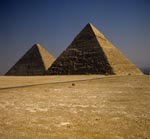 Pyramid of Khephren and Pyramid of Cheops