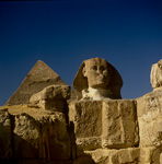 Sphinx of Giza front view