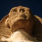Great Sphinx of Giza - head portrait