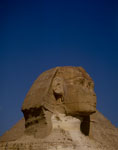 Great Sphinx of Giza portrait