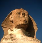 How old is the enigmatic-looking Sphinx of Giza?