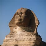 The inscrutable Great Sphinx of Giza