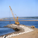 Dredging on North Headland with Manitowoc 4600