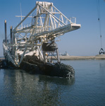 Cutter Suction Dredger with cutter head