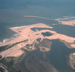 Aerial photo Richards Bay – Harbour construction