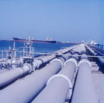 Oil pipelines in Achmedi