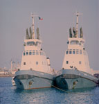 Strong harbour tugs